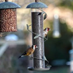 """SECRET GARDEN"" SPIRAL FINCH FEEDER"