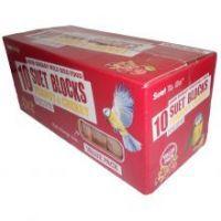 Suet blocks Pk 10(Peanut&Cherry flavour)