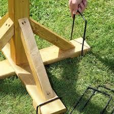 Bird Table Anchoring pegs