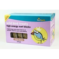"""""""Bestpets"""" Suet Blocks,pk of 8 Insect flavour"""