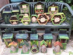 HOME MADE BUG BOXES FOR CHARITY