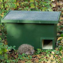 """""""Eco plate"""" hedgehog house"""