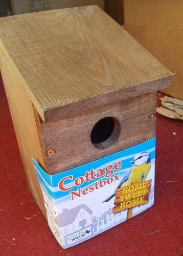 """Cottage"" Nest box for Blue tits etc(last one!)"