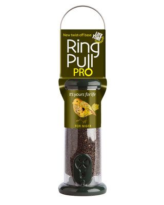"Small ""Ring Pull Pro"" Niger Feeder-Green"