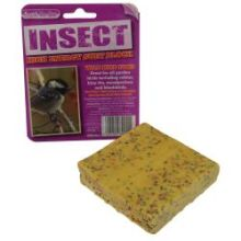"""""""Suet to go"""",Suet Blocks Insect flavour.Pk of 6"""