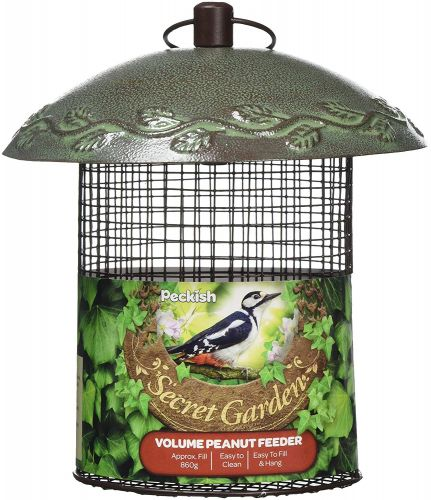 """Peckish"" Volume peanut feeder"