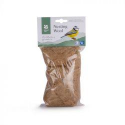 Wool pack for nesting birds