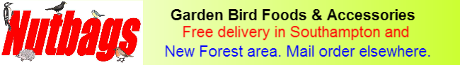 Nutbags garden bird foods - New forest Bird Foods